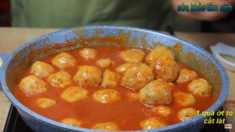 vietnamese meatball recipe