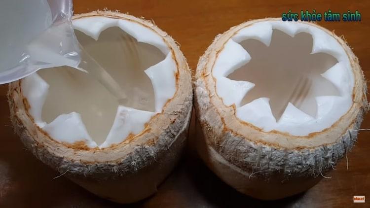homemade coconut jelly recipe