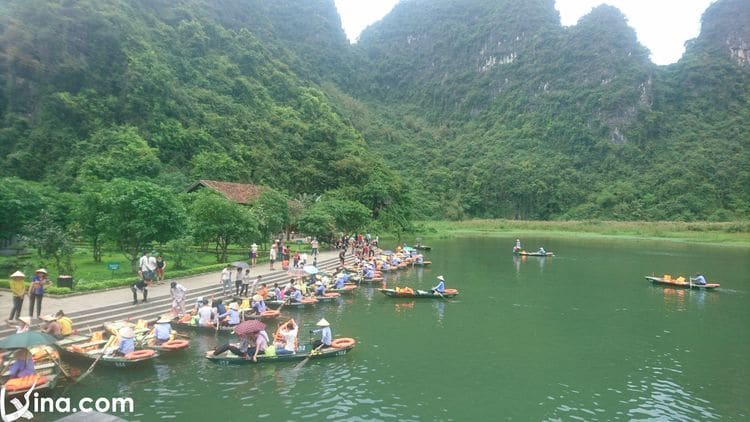 vietnam photos - photos of natural landscapes in ninh binh