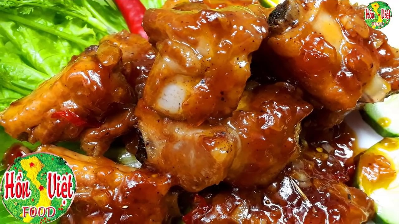 Secret Method to Make The Most Delicious Vietnamese Sweet and Sour Pork Ribs