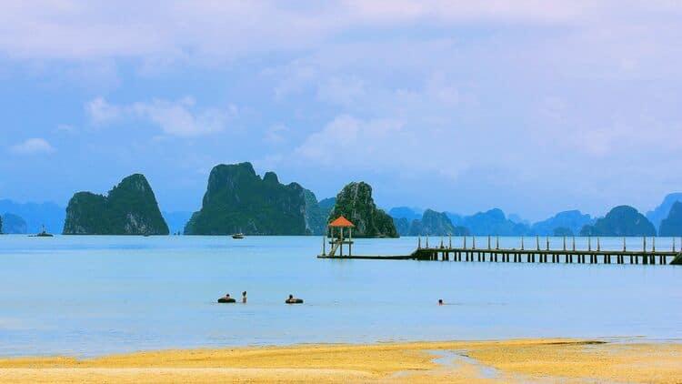 beautiful bai dai beach