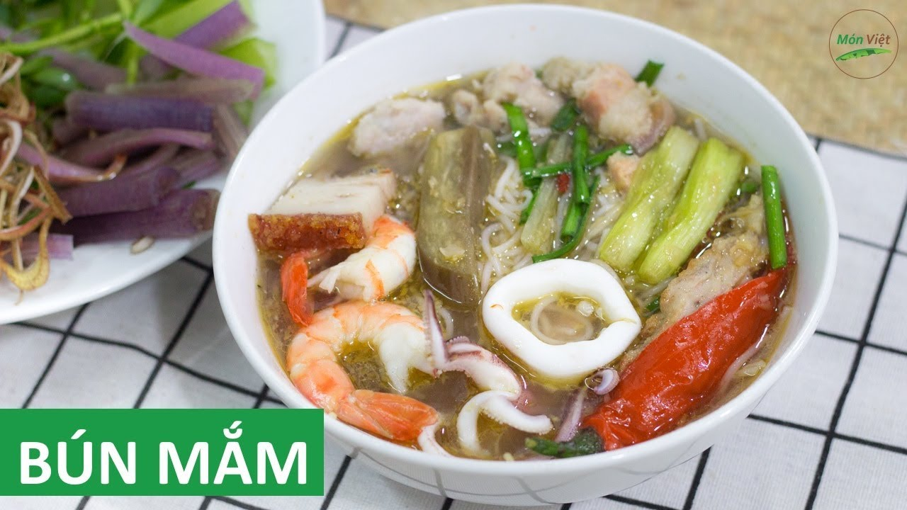 Vietnamese Fermented Fish Seafood Noodle Soup Recipe: An Unforgettable Flavour Of The West