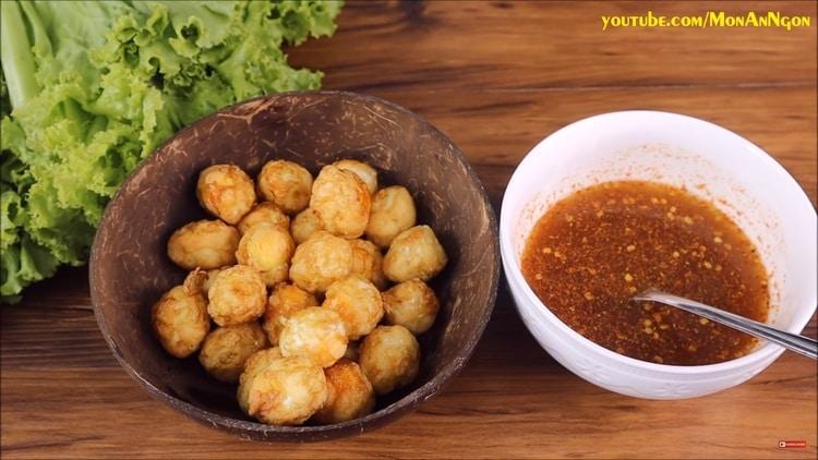 vietnamese fish sauce-fried eggs recipe