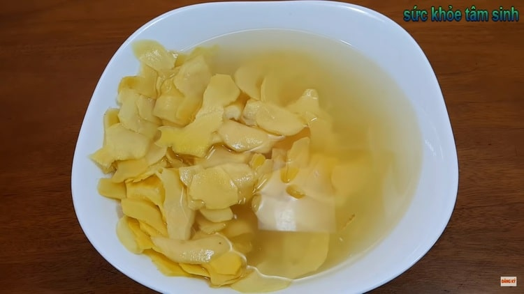 homemade vietnamese candied ginger recipe