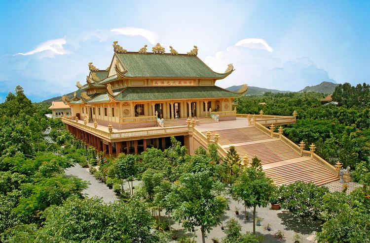 Niet Ban Tinh Xa: The Most Beautiful Pagoda In The Harmony Of Modern Architecture