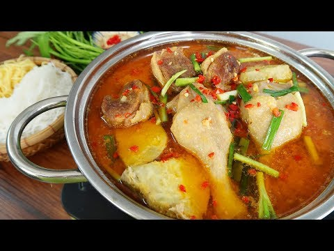Spice Up Your Family's Dinner With Vietnamese Duck With Fermented Tofu Hot Pot Recipe