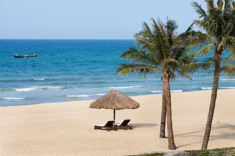 thuan an beach in vietnam
