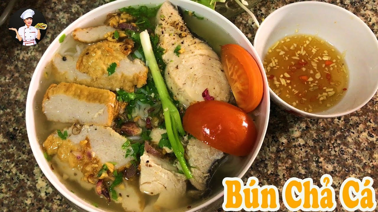 Vietnamese Fish Cake Noodle Soup Recipe – Bún Chả Cá