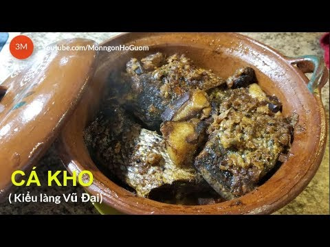 Vu Dai Village Braised Fish Recipe: Detailed Instructions