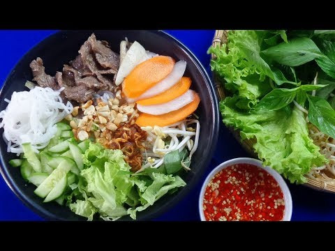Vietnamese Southern Beef Rice Vermicelli Recipe – An Extremely Attractive Dish