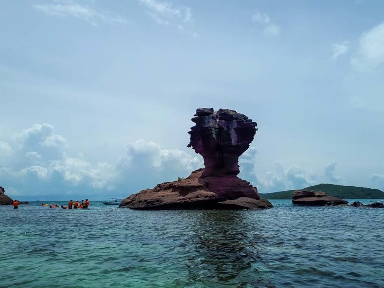Snorkeling And Fishing in Gam Ghi Island, Phu Quoc, Vietnam!