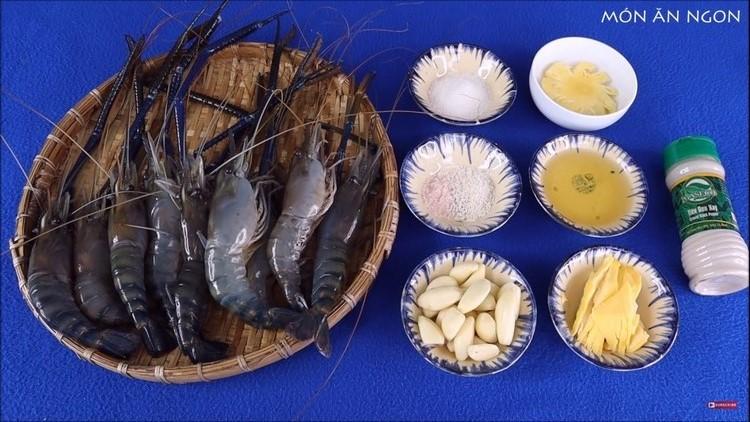 ingredients - crayfish garlic butter