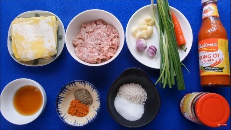 wonton and spicy sauce recipe