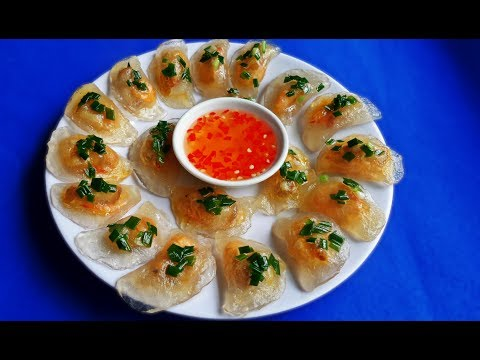 Irresistible Tasty Vietnamese Tapioca Dumplings Recipe – The Most Simple Recipe