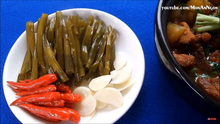 pickled water spinach recipe