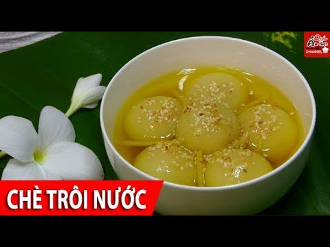 Traditional Vietnamese Floating Rice Cake Sweet Soup Recipe