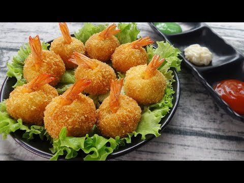 Wonderful Crunchy Vietnamese Fried Shrimp Balls Recipe – Make It Yourself!