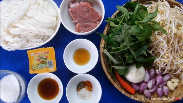 vietnamese mixed pho with beef recipe