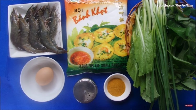vietnamese shrimp small pancake recipe