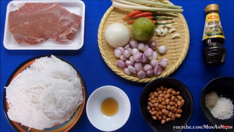 vietnamese southern beef rice vermicelli recipe