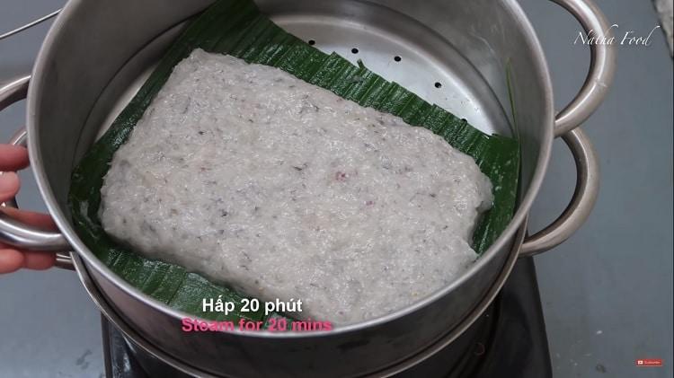 easy steamed shrimp cake recipe