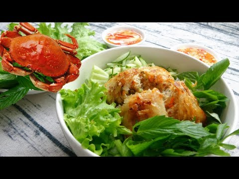 Vietnamese Square Crab Spring Rolls Recipe – A Specialty Of Hai Phong