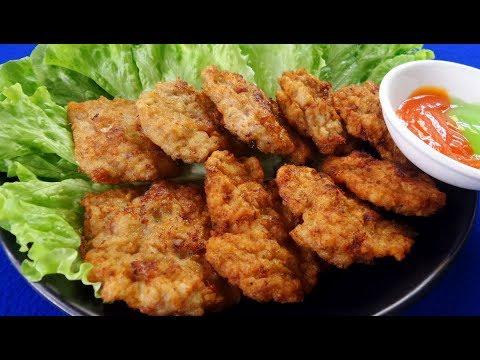 Vietnamese Squid Cake Recipe, A Special Dish Of Quang Ninh, Vietnam